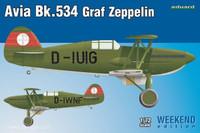 Avia Bk534 Graf Zeppelin Aircraft (Weekend Edition) 1/72 Eduard