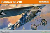 Fokker D VIII BiPlane (Profi-Pack Plastic Kit) 1/48 Eduard