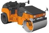 Hitachi ZC50C5 Vibratory Combined Roller Construction Machinery 1/35 Hasegawa
