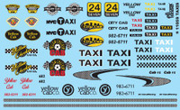 Taxis 1/24-1/25 Gofer Racing