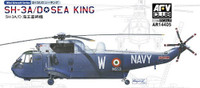 SH-3A/D Sea King Helicopter (2 Kits) 1/144 AFV Club