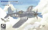 Vought F4U-1/-1A/-1C/-1D Corsair Fighter (2 Kits) 1/144 AFV Club
