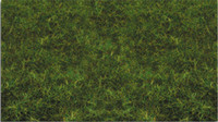 "Scenescapes 2mm Pull-Apart Static Grass Medium Green 11""x5.5"" Bachmann"
