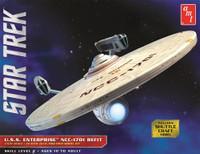 Star Trek USS Enterprise NCC-1701 Refit 1/537 AMT Models