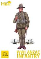 WWI ANZAC Infantry (48) 1/72 Hat