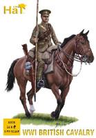 WWI British Cavalry (12 Mtd) 1/72 Hat