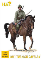 WWI Turkish Cavalry (12 Mtd) 1/72 Hat