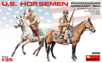 US Horsemen Normandy 1944 (2 Mtd) 1/35 Miniart