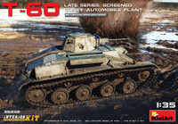 T60 Late Series Screened Gorky Plant Tank w/Full Interior 1/35 Miniart