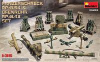 Panzerschreck RPzB54 & Ofenrohr RPzB43 Anti-Tank Rocket Launcher Set 1/35 Miniart