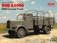 WWII German KHD A3000 Army Truck 1/35 ICM Models