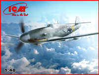 WWII German Messerschmitt Bf109F4/R6 Fighter 1/48 ICM Models