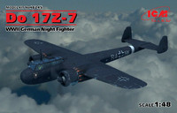 WWII German Do17Z7 Night Fighter 1/48 ICM Models