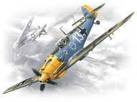 WWII German Messerschmitt Bf109E3 Fighter 1/72 ICM Models