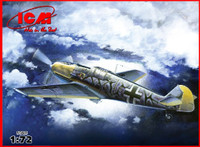 WWII German Messerschmitt Bf109E7/B Fighter/Bomber 1/72 ICM Models