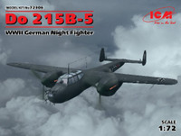WWII German Do215B5 Night Fighter 1/72 ICM Models