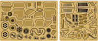 Battlestar Galactica Colonial Raptor Interior Detail Set for MOE (Photo-Etch) 1/32 Green Strawberry