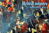 Napoleonic War British Infantry (32 w/4 Horses) 1/72 Mars Models