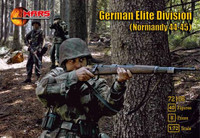 Normandy 1944-45 German Elite Division (40) 1/72 Mars Models