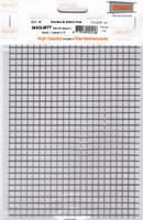 "6.0mm Square Mesh Stainless Steel Grating Metal Sheet 7.9""x5.5"" Maquett"