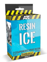 Diorama Series: Resin Ice Effect 2-Components Epoxy 150ml AK Interactive