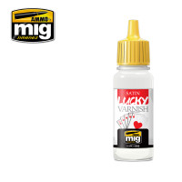 Satin Lucky Varnish 17 ml AMMO of Mig Jimenez