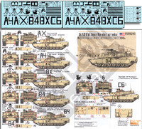 3rd ACR M1A2 Abrams OIF Tanks from Apache, Bandit & Crazyhorse Troops 1/35 Echelon