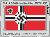S38 Schnellboot Flag Steel for ITA (Painted) 1/35 Eduard