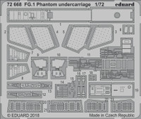 FG1 Phantom Undercarriage for ARX 1/72 Eduard