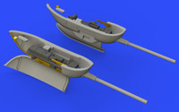 Bf 109G-6 Gun Pods for TAM (Photo-Etch & Resin) 1/48 Eduard