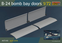 B-24 Bomb Bay Doors for EDU & HSG (Resin) 1/72 Eduard
