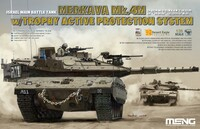Merkava Mk 4M Israeli Main Battle Tank w/Trophy Active Protection System 1/35 Meng Models