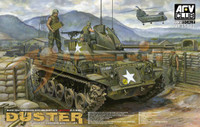 M42A1 Duster Late Type Self-Propelled Anti-Aircraft Gun Vietnam War 1/35 AFV Club