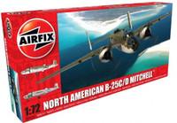 B-25C/D Mitchell Bomber 1/72 Airfix Models