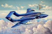 DeHavilland DH110 Sea Vixen FAW2 British Fighter 1/48 Trumpeter