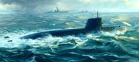 Japanese Soryu Class Attack Submarine 1/144 Trumpeter