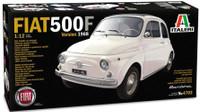 Fiat 500F Version 1968 Car 1/12 Italeri