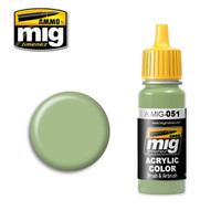 Light Green KHV-553M Acrylic Paint AMMO of Mig Jimenez