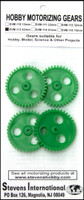 Plastic Gears 42mm x 6mm 40-teeth (3mm ID) (4) Stevens Motors