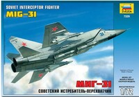 Soviet MiG-31 Interceptor Fighter 1/72 Zvezda
