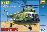 Soviet Mi-8T HIP-C Multi-Role Helicopter 1/72 Zvezda
