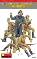 Soviet Soldiers Riders (5) (Special Edition) 1/35 Miniart