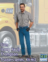 Stan Long Haul Thompson Trucker Standing 1/24 Masterbox