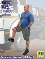 Jimmy Tex Haywood Trucker Standing w/one Foot Raised 1/24 Masterbox
