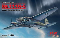 WWII German He111H6 Bomber 1/48 ICM Models