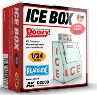 Doozy Series: Ice Box Commercial Version (Resin) 1/24 AK Interactive