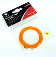 Precision Masking Tape 1mmx18m (2/pk) Vallejo