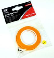 Precision Masking Tape 3mmx18m (2/pk) Vallejo