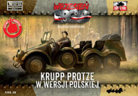 WWII Krupp Protze Polish Army Version Truck 1/72 First To Fight Models