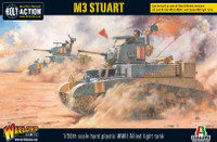 Bolt Action: WWII M3 Stuart Allied Light Tank (Plastic) 28mm Warlord Games
